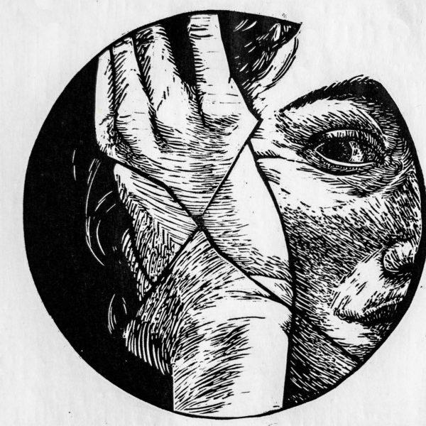 autoportrait-20x20cm-xylographie-2016